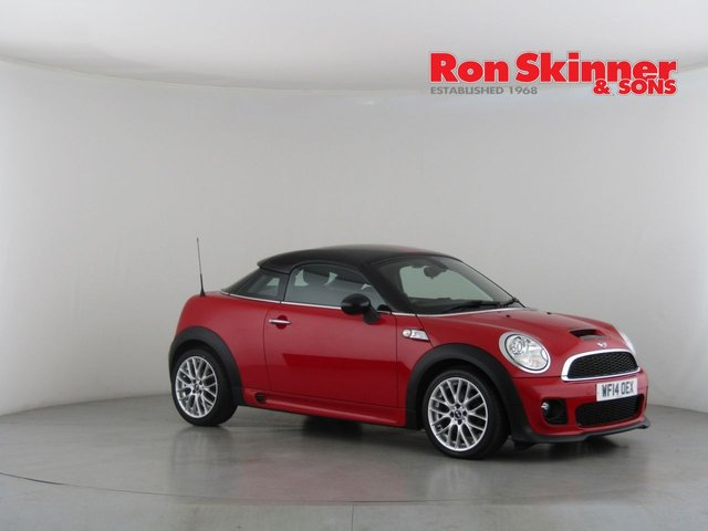 View our 2014 14 MINI COUPE 1.6 COOPER S 2d 181 BHP