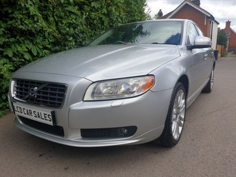 2007 VOLVO S80 3.2 PETROL SE SPORT AUTOMATIC - FULL SERVICE HISTORY - ULEZ COMPLIANT -ELECTRIC MEMORY DRIVER SEAT, HEATED FRONT & REAR SEATS, 3 STAGE ADVANCED SUSPENSION, XENON HEADLIGHTS  £5490.00
