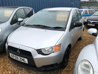 USED 2009 59 MITSUBISHI COLT 1.1 CZ1 5d 75 BHP Just came into stock more photos and video coming soon ! Part exchange welcome, we are open 7 days a week 01536 402161