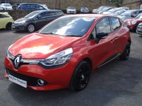 USED 2014 14 RENAULT CLIO 0.9 DYNAMIQUE MEDIANAV ENERGY TCE ECO2 S/S 5d 90 BHP FREE ANNUAL ROAD TAX