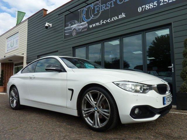 2013 63 BMW 4 SERIES 2.0 420D SPORT 2d AUTO 181 BHP