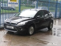 2008 FORD FOCUS 1.8 TITANIUM 5d Air con Privacy glass Alloys £3000.00