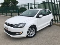 2011 VOLKSWAGEN POLO 1.2 BLUEMOTION TDI 3d 74 BHP ALLOYS CRUISE A/C MOT 04/20 £3790.00