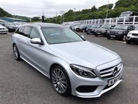 USED 2016 66 MERCEDES-BENZ C CLASS 2.1 C250 D AMG LINE PREMIUM 5d AUTO 204 BHP One owner with 21,000 miles, 19 inch AMG Alloys & Panoramic glass sunroof ++ 204bhp Model