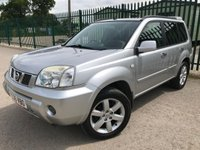 2006 NISSAN X-TRAIL 2.2 COLUMBIA DCI 5d 135 BHP ALLOYS SATNAV PRIVACY BLUETOOTH CRUISE TOWBAR SH A/C MOT 03/20 £1990.00