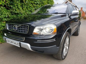 2010 VOLVO XC90 3.2 PETROL EXECUTIVE AUTO UK CAR - FULL SERVICE HISTORY - ULEZ COMPLIANT , SATELLITE NAVIGATION, REAR ENTERTAINMENT SYSTEM, REVERSING CAMERA, DYNAUDIO STEREO UPGRADE, ELECTRIC SUNROOF £11990.00