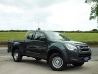 USED 2017 17 ISUZU D-MAX 1.9 EXTENDED CAB ECB 161 BHP RARE EXTENDED CAB IN TUNDRA GREEN