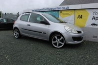 2008 RENAULT CLIO 1.1 EXTREME 16V 3d 75 BHP PETROL SILVER £1690.00