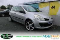 USED 2008 08 RENAULT CLIO 1.1 EXTREME 16V 3d 75 BHP PETROL SILVER GOOD SERVICE HISTORY + THE CAMBLET HAS BEEN REPLACED