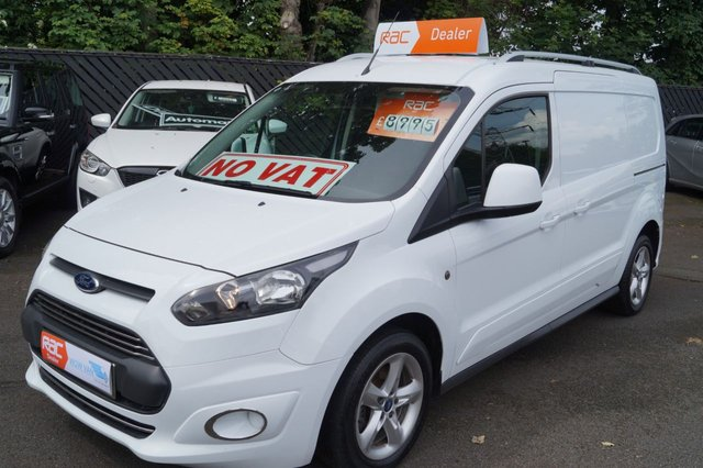 2015 64 FORD TRANSIT CONNECT 1.6 210 P/V 1d 74 BHP