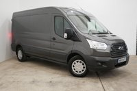 2018 FORD TRANSIT 2.0 350 L3 H2 P/V 130 BHP (Euro 6, Magnetic Grey, low miles)  £17790.00