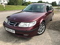 2003 SAAB 9-5 2.3 AERO HOT 5d 250 BHP ALLOYS CRUISE LEATHER CLIMATE SH A/C MOT 02/20 £990.00