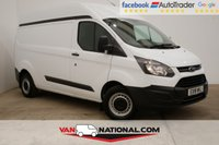 USED 2018 18 FORD TRANSIT CUSTOM 2.0 290 HR P/V L2 H2 105 BHP (Rare Long and High) * RARE HIGH ROOF * LWB * READY TO DRIVE AWAY TODAY *