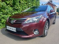 USED 2012 12 TOYOTA AVENSIS 1.8 PETROL TR AUTOMATIC - FULL SERVICE HISTORY - ULEZ COMPLIANT,