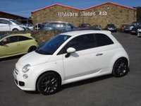 USED 2014 64 FIAT 500 1.2 S 3d 69 BHP ROAD TAX ONLY £30 A YEAR