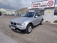 USED 2006 56 BMW X3 2.0 D SE 5d 148 BHP £20 PER WEEK, NO DEPOSIT - SEE FINANCE LINK