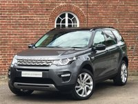 USED 2016 66 LAND ROVER DISCOVERY SPORT 2.0L TD4 HSE 5d AUTO 180 BHP