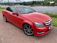 2012 MERCEDES-BENZ C CLASS 2.1 C250 CDI BLUEEFFICIENCY AMG SPORT 2d AUTO 204 BHP £9990.00