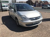 USED 2007 56 CITROEN C8 2.0 SX 16V 5d AUTO 139 BHP SOLD WITH A NEW MOT-7 SEATER-AUTOMATIC-SERVICE HISTORY-PETROL