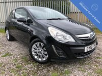 USED 2012 12 VAUXHALL CORSA 1.4 SE 3d 98 BHP Top Spec incl Heated Seats & Steering Wheel
