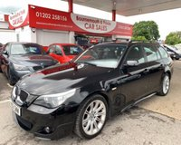 2006 BMW 5 SERIES 3.0 535D M SPORT TOURING 5d 269 BHP ESTATE AUTOMATIC £7495.00