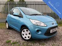 USED 2012 12 FORD KA 1.2 EDGE 3d 69 BHP £30 Tax, Low Insurance Group & Very Low Mileage
