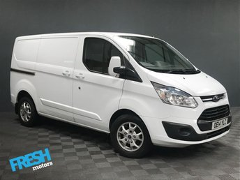 2014 FORD TRANSIT CUSTOM 2.2 270 LIMITED L1H1 £9785.00