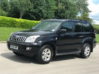 2006 TOYOTA LAND CRUISER 3.0 LC4 8-SEATS D-4D 5d AUTO 164 BHP £SOLD