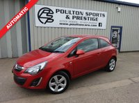 USED 2013 63 VAUXHALL CORSA 1.4 SXI AC 3d 98 BHP ++ ONLY 22k MILES!!!! ++ AUTOMATIC ++ MINT CONDITION