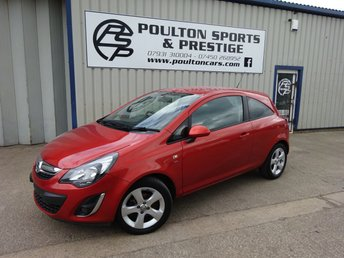 2013 VAUXHALL CORSA 1.4 SXI AC 3d 98 BHP ++ ONLY 22k MILES!!!! ++ AUTOMATIC ++ MINT CONDITION £5495.00