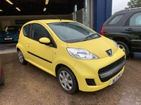 USED 2011 11 PEUGEOT 107 1.0 URBAN 3d 68 BHP SERVICE HISTORY