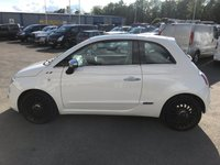 USED 2012 12 FIAT 500 0.9 LOUNGE 3d 85 BHP IN METALLIC WHITE WITH 56,000 MILES AND A FULL SERVICE HISTORY! APPROVED CARS AND FINANCE ARE PLEASED TO OFFER THIS FIAT 500 0.9 LOUNGE 3 DOOR 85 BHP IN METALLIC WHITE WITH 56,000 MILES AND A FULL SERVICE HISTORY AT 15K, 25K, AND 48K. THIS VEHICLE HAS A GREAT SPEC SUCH AS ALLOYS, BLUETOOTH, USB CONNECTIVITY, PANORAMIC ROOF, ELECTRIC WINDOWS, AIR CONDITIONING, ELECTRIC MIRRORS AND MUCH MORE. THIS IS A PERFECT FIRST TIME DRIVER VEHICLE DUE TO THE LOW ENGINE SIZE THIS IS EXTREMELY ECONOMICAL AND IS IN A LOW INSURANCE AND TAX BRACKET, NOT A VEHICLE TO BE MISSED