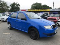 2003 SKODA FABIA 1.2 CLASSIC 5d 54 BHP IN METALLIC BLUE WITH 69,000 MILES AND A FULL SERVICE HISTORY ( TRADE CLEARANCE ) £800.00