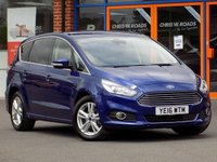 USED 2016 16 FORD S-MAX 2.0 TDCi Titanium 5dr AWD ** Sat Nav + Front and Rear Cameras **