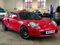 2002 TOYOTA MR2 1.8 ROADSTER 2d 138 BHP £2290.00