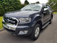 USED 2017 17 FORD RANGER 3.2 LIMITED 4X4 DCB TDCI 1d AUTO 197 BHP Monumental Specification....Excellent Condition throughout, Drives Brilliant & 12 months Ford Warranty.
