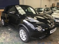 USED 2018 18 NISSAN JUKE 1.6 N-CONNECTA XTRONIC 5d AUTO 117 BHP