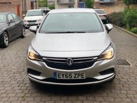USED 2015 65 VAUXHALL ASTRA 1.6 DESIGN CDTI S/S 5d 134 BHP ULEZ Free, Warranty, NEW MOT, Warranty, Finance