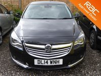 USED 2014 14 VAUXHALL INSIGNIA 2.0 TECH LINE CDTI ECOFLEX S/S 5d 160 BHP *JUST ARRIVED..CALL FOR DETAILS*