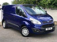 USED 2016 16 FORD TRANSIT CUSTOM 270 2.2 125 BHP TREND L1 H1 CHOOSE FROM OVER 85 VANS**