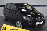 USED 2013 13 VAUXHALL ZAFIRA 1.6 EXCLUSIV 5d 115 BHP (LOW MILEAGE 7 SEATER)