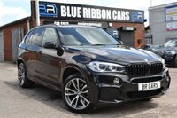 USED 2014 14 BMW X5 3.0 XDRIVE30D M SPORT 5d AUTO 255 BHP PANORAMIC SUNROOF, 7 SEATS, FSH