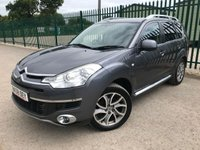 2008 CITROEN C-CROSSER 2.2 EXCLUSIVE HDI 5d 155 BHP ALLOYS SATNAV LEATHER CRUISE BLUETOOTH PRIVACY A/C MOT 02/20 £1990.00