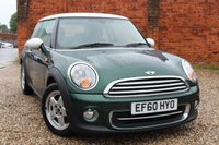 USED 2011 60 MINI HATCH COOPER 1.6 COOPER 3d AUTO 122 BHP
