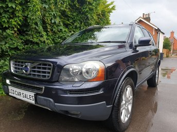 2010 VOLVO XC90 2.4 D5 SE AUTO - FULL VOLVO SERVICE, 1 OWNER REAR ENTERTAINMENT SYSTEM, REAR PRIVACY GLASS, ROOF RAILS, AIR CONDITIONING, ALLOY WHEELS £10990.00