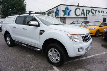 2014 FORD RANGER 2.2 TDCI 150 LIMITED 4X4 DCB ( LEATHER & SAT NAV ) £11989.00
