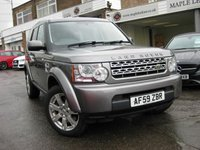 2009 LAND ROVER DISCOVERY 3.0 4 TDV6 GS 5d AUTO 245 BHP