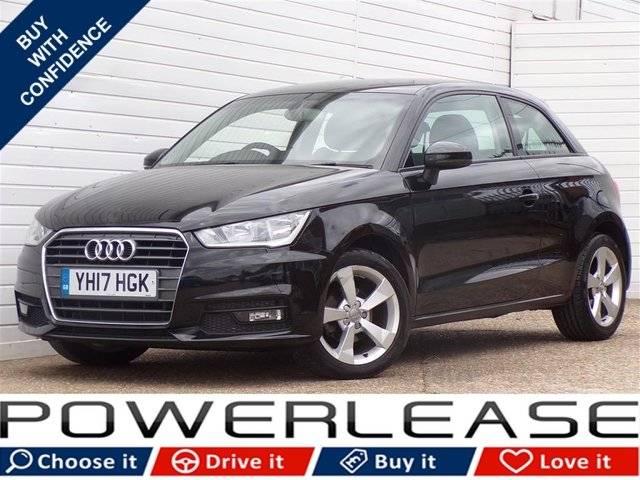 USED 2017 17 AUDI A1 1.0 TFSI SPORT 3d 93 BHP 1/2LEATHER FREETAX FULLHISTORY