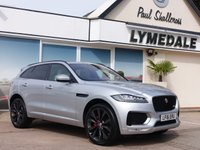USED 2016 16 JAGUAR F-PACE 3.0 V6 FIRST EDITION AWD 5d AUTO 296 BHP