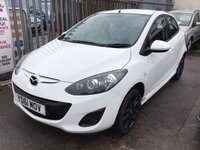 USED 2011 61 MAZDA 2 1.3 TAMURA 5d 83 BHP Low road tax, White, 5 door, 53000 miles, economical, great value, superb.